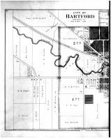 Hartford City - Left, Washington and Ozaukee Counties 1892